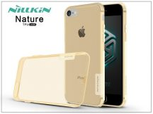 Apple iPhone 7/iPhone 8 szilikon hátlap - Nillkin Nature - aranybarna
