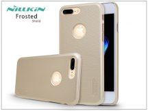 Apple iPhone 7 Plus hátlap képernyővédő fóliával - Nillkin Frosted Shield - gold