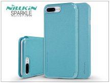 Apple iPhone 7 Plus/iPhone 8 Plus oldalra nyíló flipes tok - Nillkin Sparkle - kék