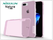 Apple iPhone 7 Plus/iPhone 8 Plus szilikon hátlap - Nillkin Nature - pink
