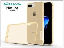 Apple iPhone 7 Plus/iPhone 8 Plus szilikon hátlap - Nillkin Nature - aranybarna