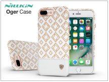 Apple iPhone 7 Plus/iPhone 8 Plus hátlap - Nillkin Oger - fehér