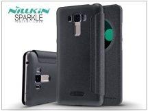 Asus Zenfone 3 Laser (ZC551KL) oldalra nyíló flipes tok - Nillkin Sparkle - fekete