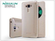 Asus Zenfone 3 Laser (ZC551KL) oldalra nyíló flipes tok - Nillkin Sparkle - gold