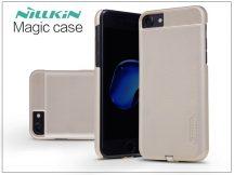 Apple iPhone 7 hátlap beépített Qi adapterrel, vezeték nélküli töltő állomáshoz - Nillkin Magic Case - gold