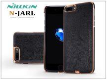 Apple iPhone 7 Plus hátlap beépített Qi adapterrel, vezeték nélküli töltő állomáshoz  - Nillkin N-Jarl Magic Case - fekete