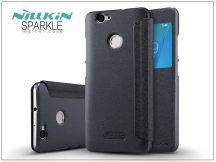 Huawei Nova oldalra nyíló flipes tok - Nillkin Sparkle - fekete