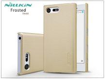 Sony Xperia X Compact (F5321) hátlap képernyővédő fóliával - Nillkin Frosted Shield - gold