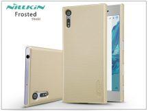 Sony Xperia XZ (F8331) hátlap képernyővédő fóliával - Nillkin Frosted Shield - gold