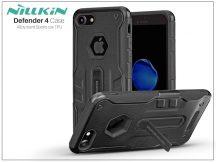 Apple iPhone 7 ütésálló védőtok - Nillkin Defender 4 - fekete