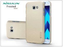Samsung A520F Galaxy A5 (2017) hátlap képernyővédő fóliával - Nillkin Frosted Shield - gold