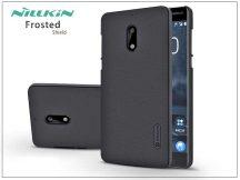 Nokia 6 hátlap képernyővédő fóliával - Nillkin Frosted Shield - fekete