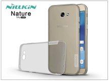 Samsung A720F Galaxy A7 (2017) szilikon hátlap - Nillkin Nature - szürke