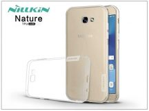 Samsung A720F Galaxy A7 (2017) szilikon hátlap - Nillkin Nature - transparent