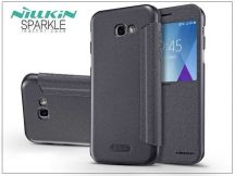 Samsung A520F Galaxy A5 (2017) oldalra nyíló flipes tok - Nillkin Sparkle - fekete