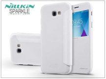 Samsung A520F Galaxy A5 (2017) oldalra nyíló flipes tok - Nillkin Sparkle - fehér