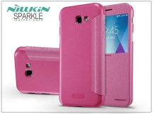 Samsung A520F Galaxy A5 (2017) oldalra nyíló flipes tok - Nillkin Sparkle - pink