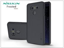 LG G6 H870 hátlap képernyővédő fóliával - Nillkin Frosted Shield - fekete