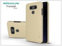 LG G6 H870 hátlap képernyővédő fóliával - Nillkin Frosted Shield - gold