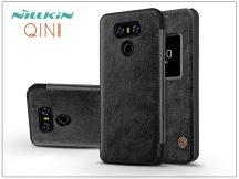 LG G6 H870 oldalra nyíló flipes tok - Nillkin Qin - fekete
