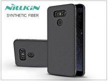 LG G6 H870 hátlap - Nillkin Synthetic Fiber - fekete