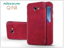 Samsung A520F Galaxy A5 (2017) oldalra nyíló flipes tok - Nillkin Qin - piros