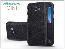 Samsung A320F Galaxy A3 (2017) oldalra nyíló flipes tok - Nillkin Qin - fekete