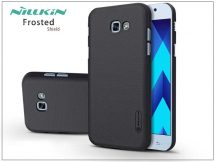 Samsung A320F Galaxy A3 (2017) hátlap képernyővédő fóliával - Nillkin Frosted Shield - fekete