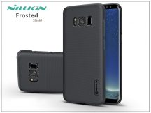 Samsung G950F Galaxy S8 hátlap képernyővédő fóliával - Nillkin Frosted Shield - fekete
