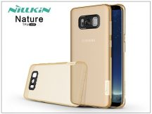 Samsung G950F Galaxy S8 szilikon hátlap - Nillkin Nature - aranybarna
