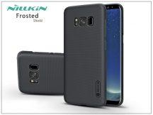 Samsung G955F Galaxy S8 Plus hátlap képernyővédő fóliával - Nillkin Frosted Shield - fekete
