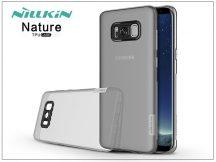 Samsung G955F Galaxy S8 Plus szilikon hátlap - Nillkin Nature - szürke