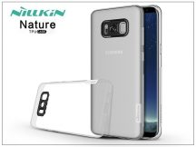 Samsung G955F Galaxy S8 Plus szilikon hátlap - Nillkin Nature - transparent