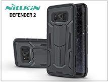 Samsung G955F Galaxy S8 Plus ütésálló védőtok - Nillkin Defender 2 - fekete