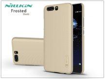 Huawei P10 hátlap képernyővédő fóliával - Nillkin Frosted Shield - gold