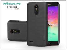 LG K10 M250N (2017) hátlap képernyővédő fóliával - Nillkin Frosted Shield - fekete