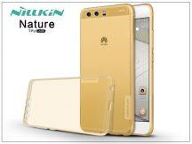Huawei P10 szilikon hátlap - Nillkin Nature - aranybarna