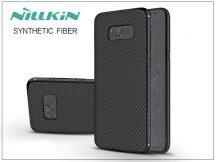 Samsung G955F Galaxy S8 Plus hátlap - Nillkin Synthetic Fiber - fekete