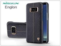 Samsung G955F Galaxy S8 Plus hátlap - Nillkin Englon - fekete