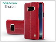 Samsung G955F Galaxy S8 Plus hátlap - Nillkin Englon - piros