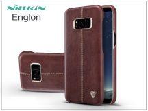 Samsung G955F Galaxy S8 Plus hátlap - Nillkin Englon - barna