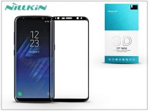 Samsung G955F Galaxy S8 Plus üveg képernyővédő fólia - Nillkin 3D CP+ Max Fullcover - fekete