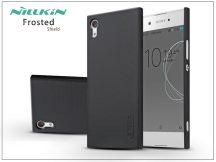 Sony Xperia XA1 (G3121/G3123/G3125) hátlap képernyővédő fóliával - Nillkin Frosted Shield - fekete