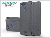 Huawei Nova 2 Plus oldalra nyíló flipes tok - Nillkin Sparkle - fekete