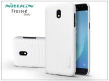 Samsung J530F Galaxy J5 (2017) hátlap képernyővédő fóliával - Nillkin Frosted Shield - fehér