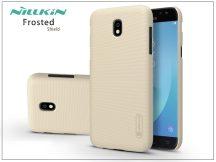 Samsung J730F Galaxy J7 (2017) hátlap képernyővédő fóliával - Nillkin Frosted Shield - gold