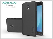 Samsung J330F Galaxy J3 (2017) hátlap képernyővédő fóliával - Nillkin Frosted Shield - fekete