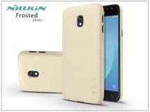 Samsung J330F Galaxy J3 (2017) hátlap képernyővédő fóliával - Nillkin Frosted Shield - gold