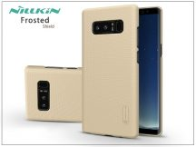 Samsung N950F Galaxy Note 8 hátlap képernyővédő fóliával - Nillkin Frosted Shield - gold