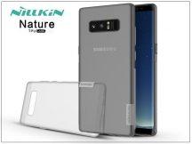 Samsung N950F Galaxy Note 8 szilikon hátlap - Nillkin Nature - szürke